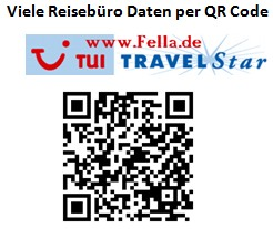 QRCodeReisebueroFellaTUI TRAVELStar